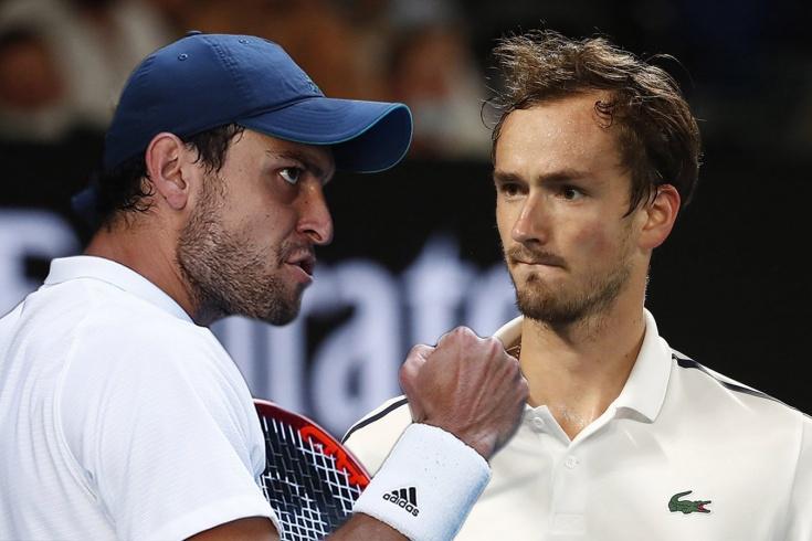 Аслан Карацев vs Даниил Медведев на «Мастерсе» в Риме: статистика встреч и другие противостояния российских теннисистов