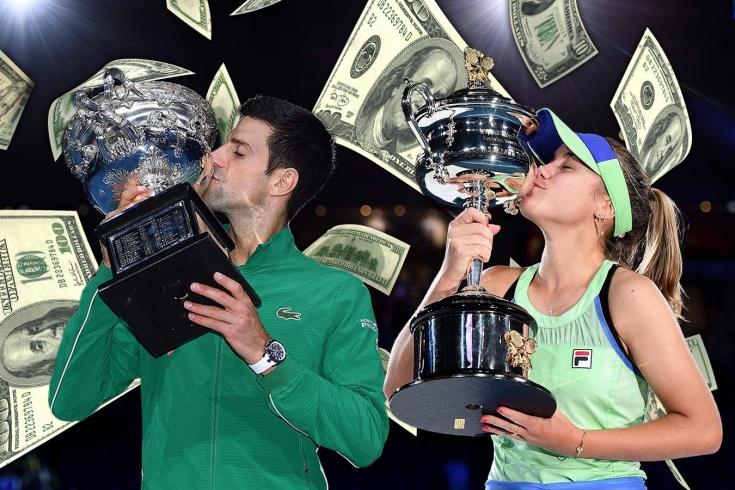 $ 2,1 млн – это много или мало? Чемпионам Australian Open урезали призовые на 33 процента