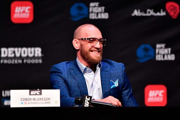 Конор Макгрегор против Дастина Порье на UFC 257. Пресс-конференция