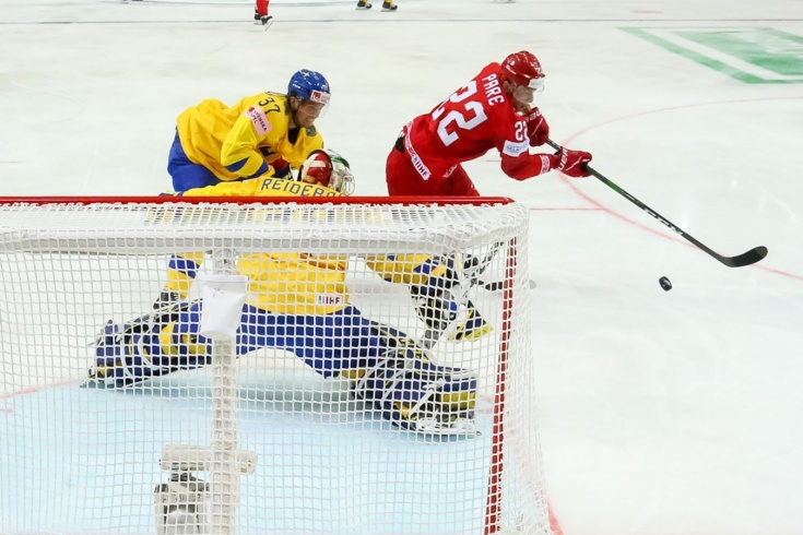 Швеция — Беларусь – 0:1 – видео, голы, обзор матча чемпионата мира по хоккею 2021