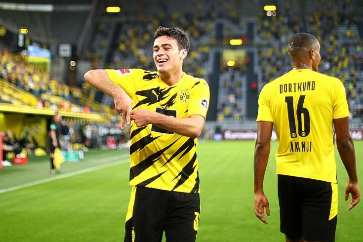 17-летний футболист «Боруссии» Джованни Рейна отдал три голевые передачи в одном матче
