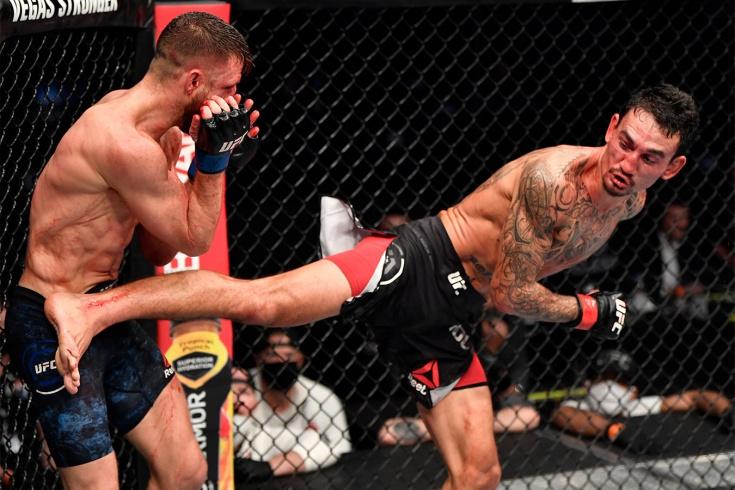 Макс Холлоуэй победил Келвина Каттара на турнире UFC Fight Island 7. Видео
