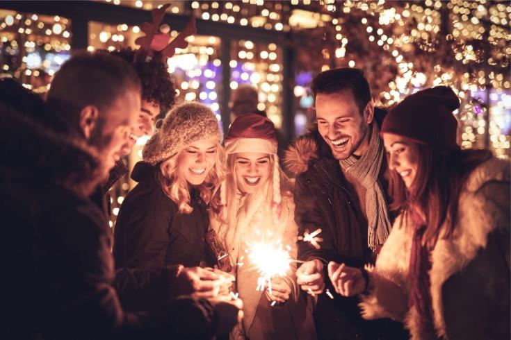 Где активно встретить Новогоднюю ночь?