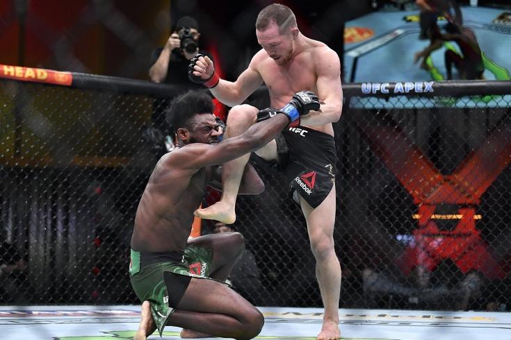 UFC 259 Пётр Ян дисквалифицирован и лишён пояса, чемпионом назван Алджэмейн Стерлинг, видео