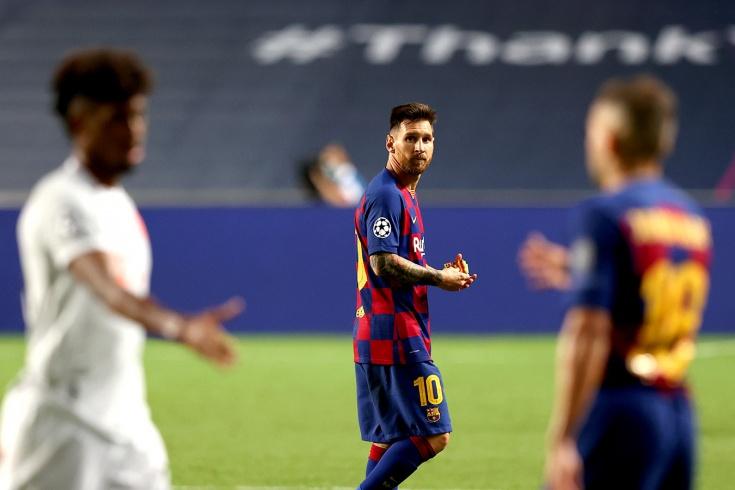 «Барселона» — «Бавария» — 2:8