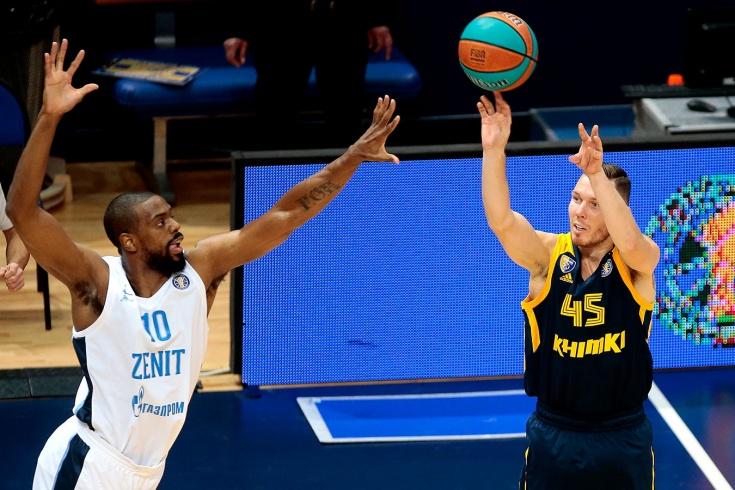 «Химки» без Шведа не выдержали напор «Зенита». Большой баскетбол наконец-то вернулся