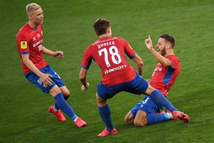 ЦСКА – «Спартак» — 2:0