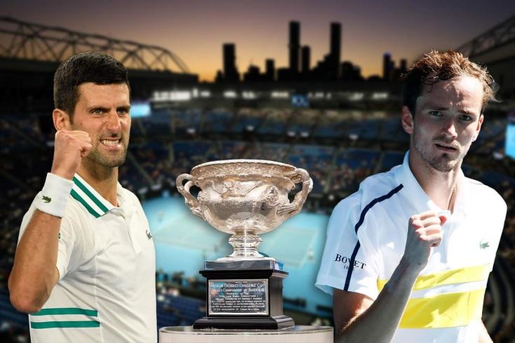 Джокович – Медведев, финал Australian Open