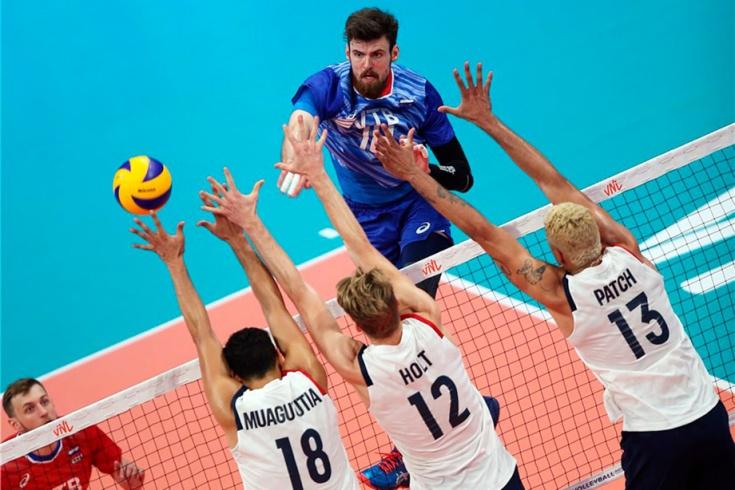 Как сборная России по волейболу победила США