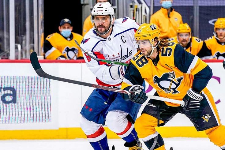 Овечкин пластался в обороне, Малкин бил Кузнецова! «Вашингтон» впервые обыграл «Питтсбург»