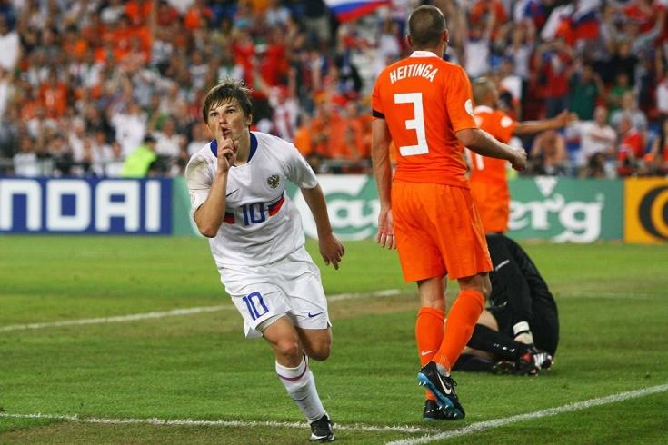 сборная России играет как на Евро-2008