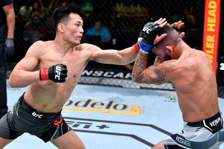 UFC: Чан Сон Джон победил американца Дэна Иге единогласным решением судей