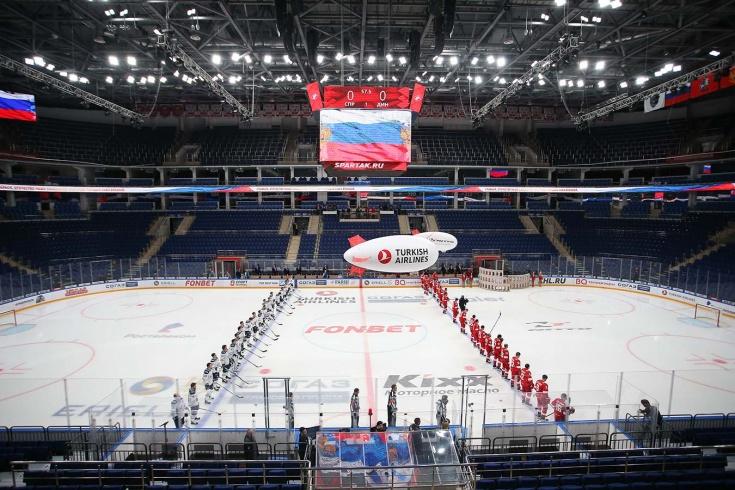 Чемпионат КХЛ приостановлен до 10 апреля