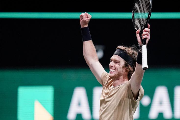 Андрей Рублёв выиграл 22 матча подряд на турнирах ATP-500, Аслан Карацев впервые в топ-40, россияне – в 1/4 финала Дубая