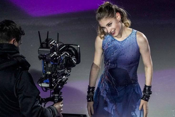Алёна Косторная делает поддержки с Даниилом Самсоновым – фото: уйдёт ли чемпионка Европы в парное катание?