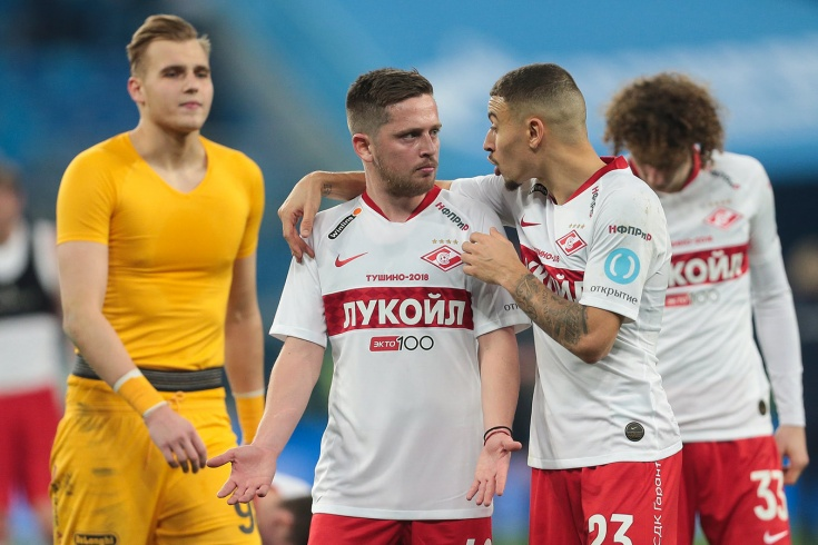 Джано расторг контракт со «Спартаком»