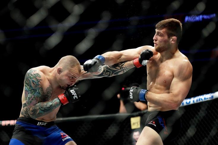 Энтони Смит – Эндрю Санчес, UFC, видео нокаута