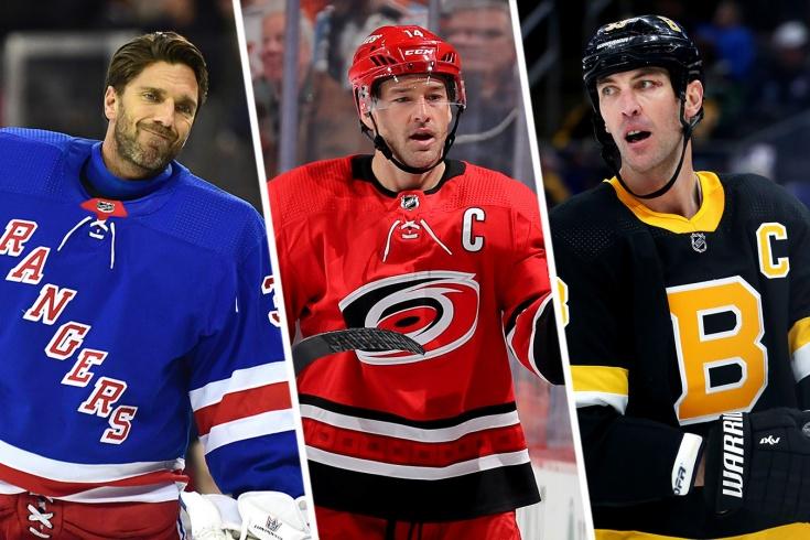 Главные «старички» НХЛ. Кто ещё даст фору молодым, а кто уже сдал?
