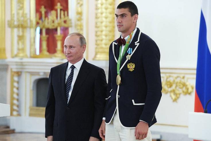 Владимир Путин и Евгений Тищенко