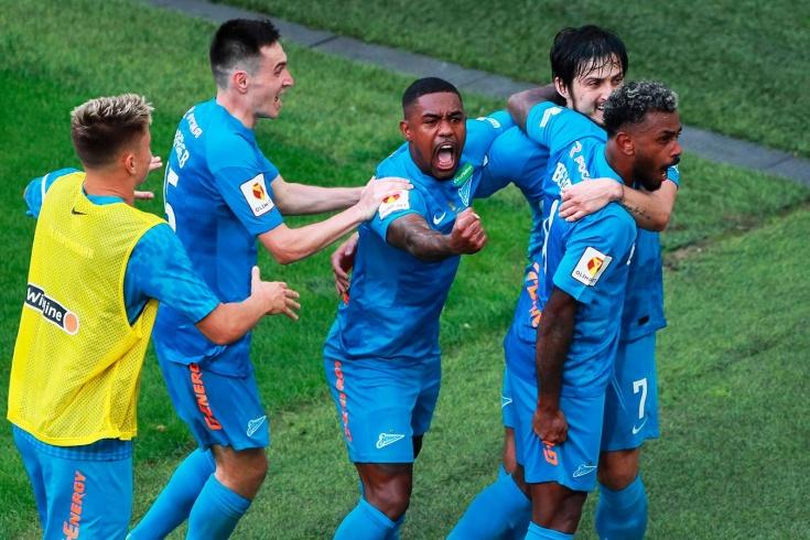 «Зенит» выиграл Суперкубок. «Локо» сам привёз себе два гола
