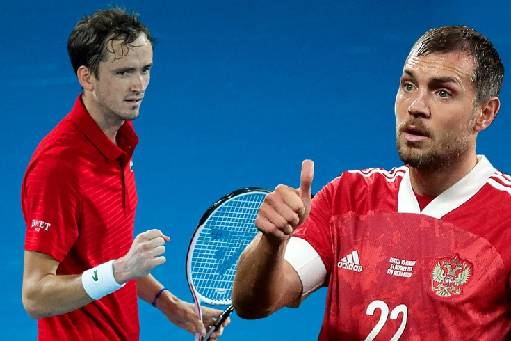 Дзюба и теннис – любовь. Фанатеет от Федерера и общается с Медведевым