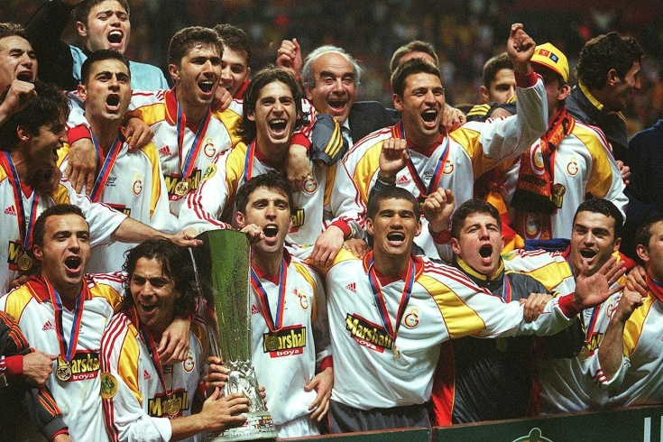 «Галатасарай» сломал кубок УЕФА