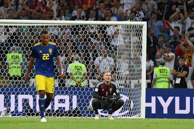 Германия — Швеция — 2:1