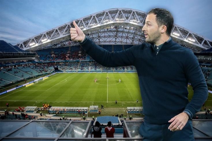 «Спартак» вдохновил «Сочи» на новый девиз. Послание к Тедеско увековечат на стадионе?