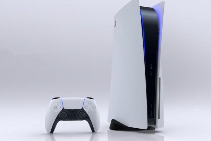 Sony PlayStation 5 дизайн и размеры