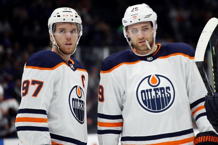 «Эдмонтон» вылетел из плей-офф НХЛ, Макдэвид и Драйзайтль беспомощны в плей-офф НХЛ