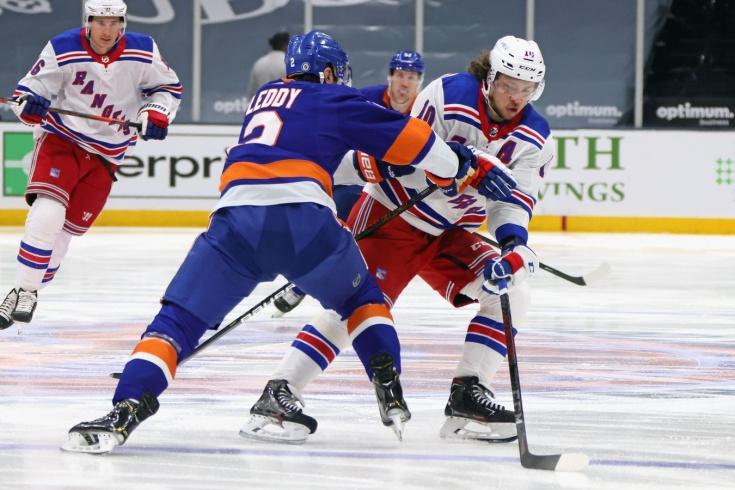 «Айлендерс» – «Рейнджерс» – 1:4, видео, голы, обзор матча регулярного чемпионата НХЛ