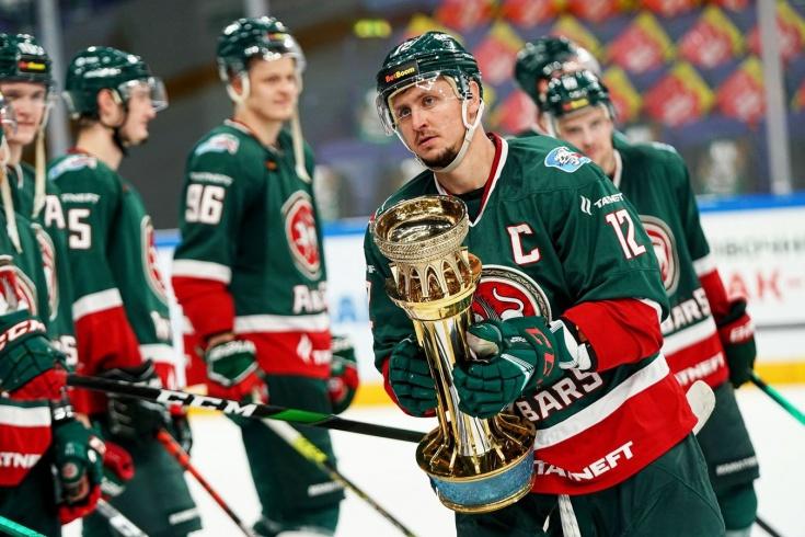 «Ак Барс» выиграл у СКА и стал победителем предсезонного турнира Кубок чемпионов