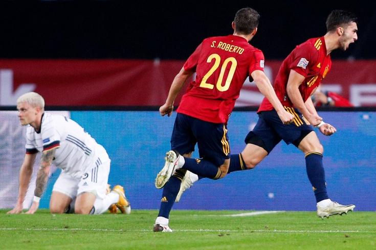 Немцы опозорились в Испании. Получили шесть голов и отдали первое место в группе