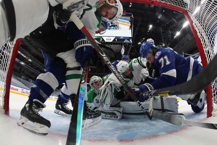 «Его имя Антон Худобин!». Удивительная игра русского вратаря в первом матче финала НХЛ!