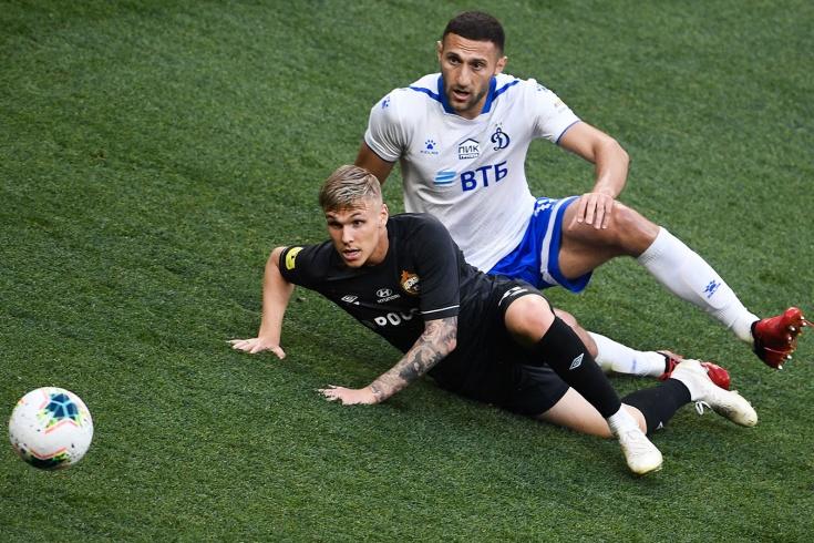 «Динамо» — ЦСКА — 0:0, 27 июня 2020