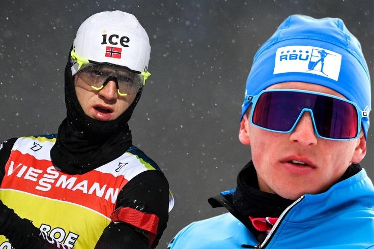 Саид Халили, Йоханнес Бё, ЧМ по биатлону-2021
