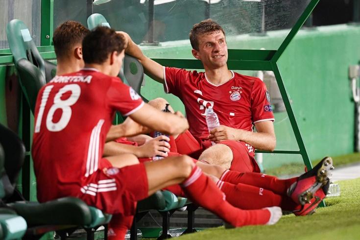 «Лион» — «Бавария» — 0:3
