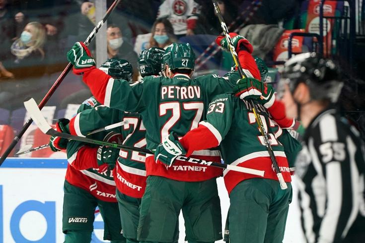 «Ак Барс» — «Салават Юлаев» — 4:1, первый раунд плей-офф КХЛ, сезон-2020/2021, отчёт и видео