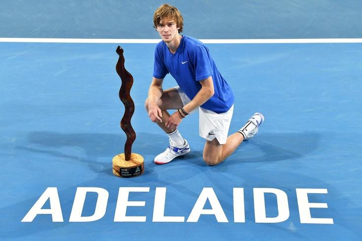 Андрей Рублёв после успеха в Дохе завоевал титул в Аделаиде