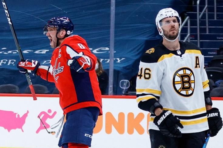 «Вашингтон» — «Бостон» — 3:2 ОТ, видео, голы, обзор матча плей-офф НХЛ