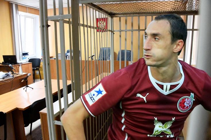 Бывшему игроку «Рубина» грозит до 6 лет колонии. Что натворил Руслан Мухаметшин?