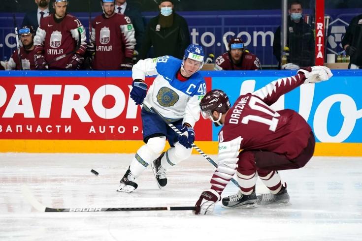 Казахстан сделал то, чего не смогла Канада! Сборная Латвии повержена на домашнем ЧМ