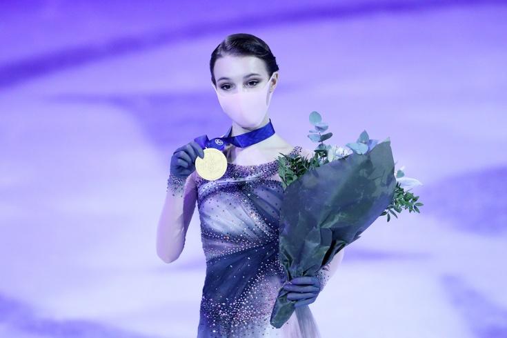 Чемпионат мира по фигурному катанию 2021, произвольная программа женщин, видео: полный триумф России – победа Щербаковой