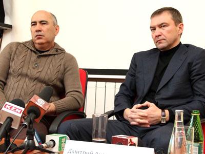 Курбан Бердыев и Дмитрий Самаренкин