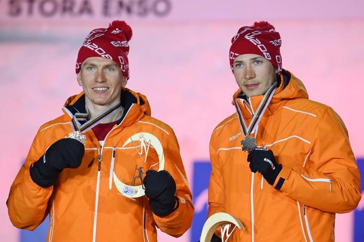 Российский лыжник Глеб Ретивых