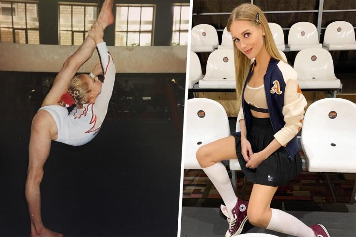Асмус – фото: чего актриса добилась в гимнастике