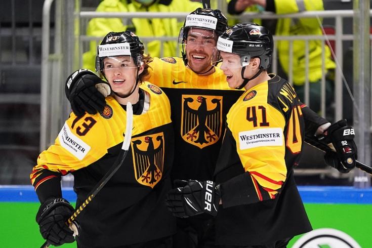 ЧМ по хоккею 2021, Германия – Латвия – 2:1, обзор матча, Канада вышла в плей-офф
