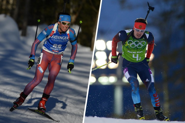 Олимпийские чемпионы по биатлону Слепцова и Устюгов не признают вину в применении допинга