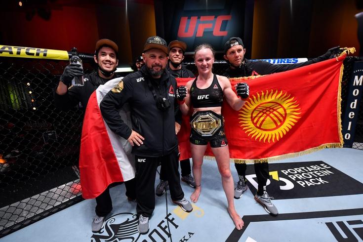 Валентина Шевченко победила Дженнифер Майю на UFC 255, видео боя