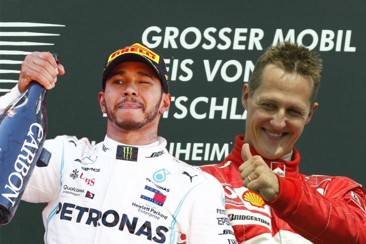 Шумахер и Хэмилтон не легенды, а «самовозники»? Сравниваем силу машин и напарников